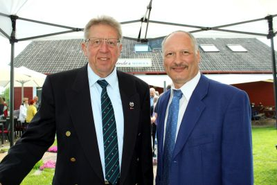 50 Jahre WSVI - Jubiläumsempfang - Lothar Bierberg und Frank Skarba