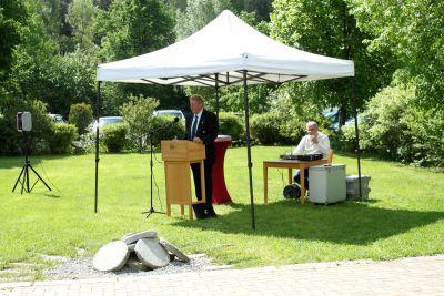 50 Jahre WSVI - Jubiläumsempfang - Ansprache des 1. Vorsitzenden des WSVI Lothar Bierberg