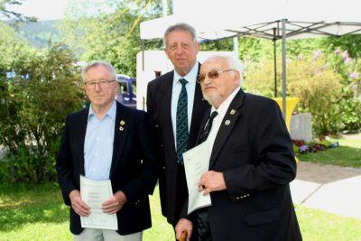 50 Jahre WSVI - Jubiläumsempfang Ehrung für 50-jährige Mitgliedschaft