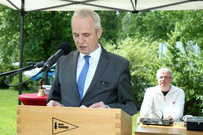 50 Jahre WSVI - Jubiläumsempfang - Landrat Thomas Brych