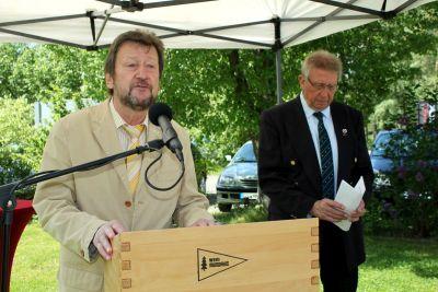 50 Jahre WSVI - Jubiläumsempfang - Burkhard Pahl - Ortsbürgermeister Wolfshagen und stellvertretender Bürgermeister der Staddt Langelsheim