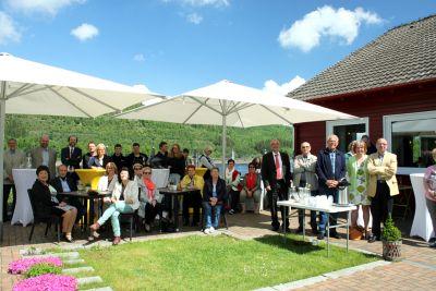 50 Jahre WSVI - Jubiläumsempfang - zahlreiche Mitglieder und geladene Gäste waren erschienen