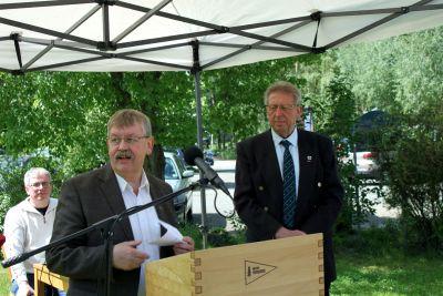 50 Jahre WSVI - Jubiläumsempfang - Hartmut Arndt, Ortsbürgermeister von Lautenthal